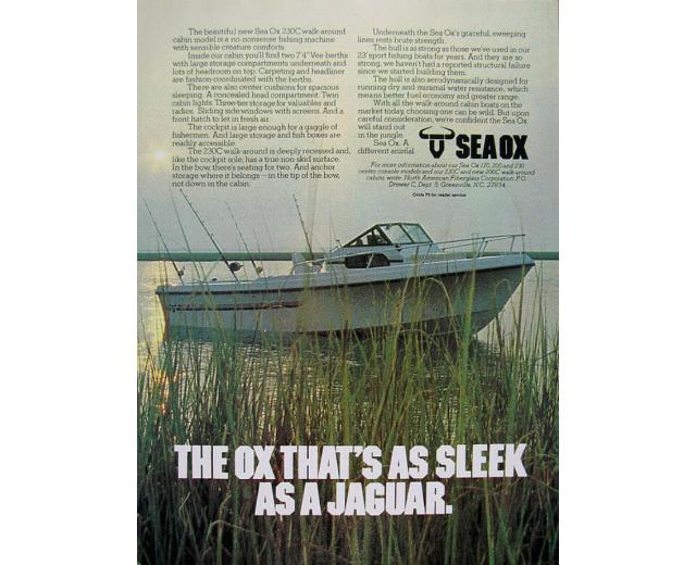 sea ox jaguar sleek