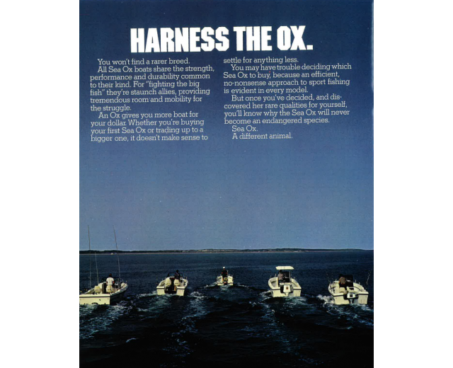 sea ox harness ox
