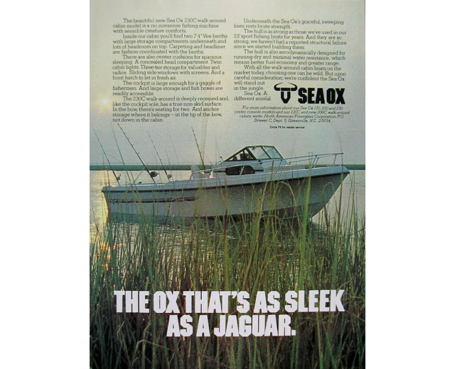 sea ox jaguar sleek