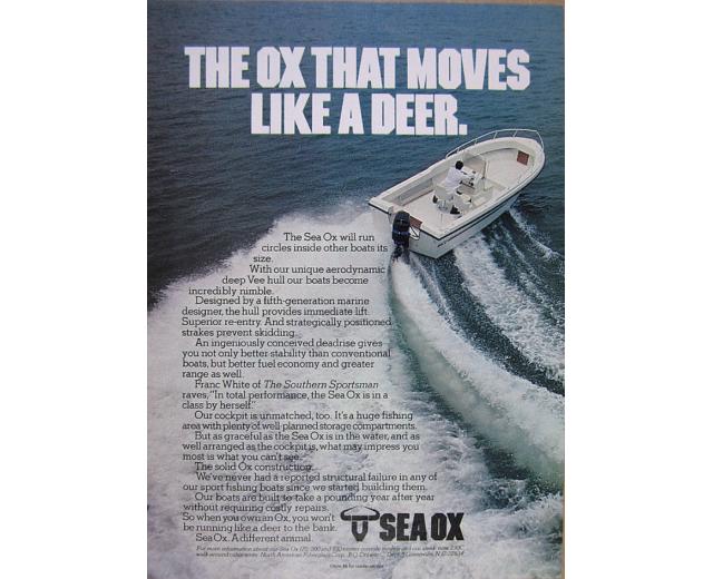 sea ox deer